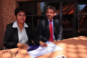 Tiso Foundation & Kagiso Trust Signing Ceremony